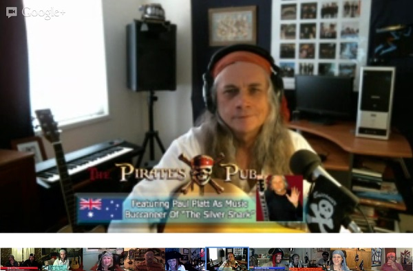 Paul Platt on The Pirate's Pub